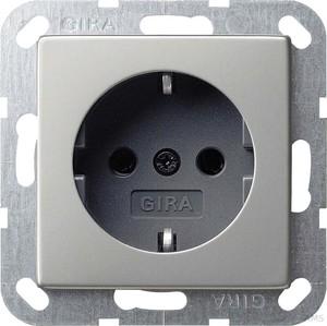 Gira 188600 SCHUKO System 55 Edelstahl
