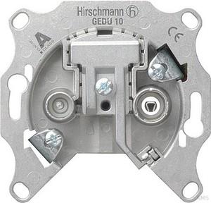 Gira Giersiepen GmbH & Co.KG GIRA 004100 Durchgangsdose Mod Sat/BK Einsatz