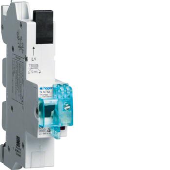 Hager HTS163E SLS-Schalter 1P E-63A für Sammelschiene