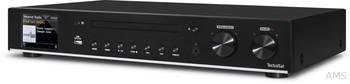 TechniSat  DigitRadio 140 schwarz DAB+/UKW/Internet mit CD HiFi Maß 43cm