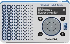 TechniSat Digitalradio BR Heimat-Edition DIGITRADIO1BR ws/bl