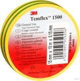 3M TEMFLEX 1500 25MX19M ISOLIERBAND PVC 19mmx25m