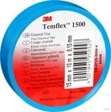 3M TEMFLEX 1500 25MX19M Isolierband Temflex  blau 19mmx25m