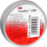 3M TEMFLEX 1500 25MX19M Isolierband Temflex  grau 19mmx25m