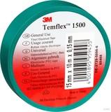 3M TEMFLEX 1500 25MX19M Isolierband Temflex  grün 19mmx25m