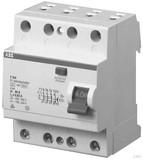 ABB F204A-25/0,03L FI-Schutzschalter 4P,25A,30mA,N links