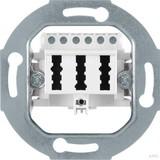 Berker 450009 TAE-Anschlussdose 3 x 6NFN