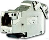 Busch-Jaeger 0219-101 RJ-45 Universalmodul real. Cat. 6a