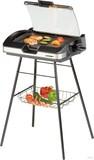 Cloer 6720 Barbecue-Standgrill mit Glasdeckel
