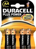 Duracell Plus Power-AA(MN1500/LR6) K4