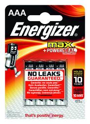 Energizer MM Micro 4 Stück Max Micro (AAA) 4 Stück