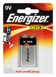 Energizer Max E-Block 1 Stück Max E-Block (9V) 1 Stück