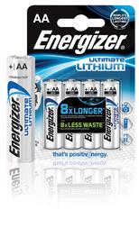 Energizer UL Mignon 4 Stück Ultimate Lithium Mignon (AA) 4 Stück