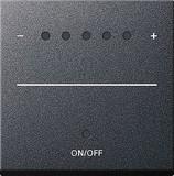 Gira 226028 Aufsatz Touch-Dimmer anthr.