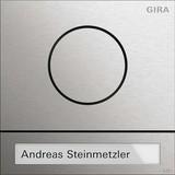 Gira 5565920 Türstationsmodul System 106 Edelstahl
