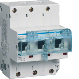 Hager HTN363E SLS-Schalter 3P 63A für Hutschiene