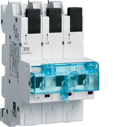 Hager HTS335E SLS-Schalter 3P E-35A für Sammelschiene