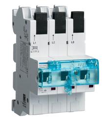 Hager HTS363E SLS-Schalter 3P E-63A für Sammelschiene