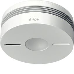 Hager TG550A Funk-Rauchwarnmelder Komfort Q, weiß