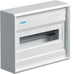 Hager VA12CN AP Kleinverteiler IP30 1RH WS neu