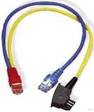 Homeway HCAHNG-B2404-A005 HW-Y-Kabel4 LAN/TAE bl/ge 0,5m