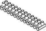 Kleinhuis 129.3 Anschlußklemme 1 - 4 mm² (10 Stück)