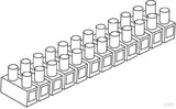 Kleinhuis 159D. N EURO-Klemme 1,5 - 4 mm² (10 Stück)