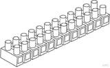 Kleinhuis 160D. N EURO-Klemme 2,5 - 6 mm² (10 Stück)