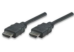 Manhatten HDMI High Speed HDMI Kabel 1m St./St. sw