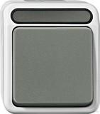 Merten MEG3116-8029 Aus/Wechselschalter lichtgrau