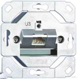 Metz Connect Anschlussdose C6A UP0 1xRJ45,UP0 TN EDATC6A-1UP0