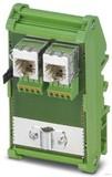 Phoenix Contact Patch-Panel RJ45/RJ45-Buchsen FL-PP-RJ45-SCC/SC041
