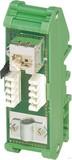 Phoenix Contact Patchpanel Cat.5e Hutschienenmontage FL-PP-RJ45-SCC