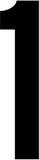 RZB 99223.013.1 Klebeziffer 1 120mm