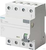 Siemens 5SV3346-6 TYP A 63A 3+N-POL 30MA 400V 4TE