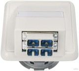Telegärtner Anschlussdose OAD/S 2xST/SC-Duplex aws H02051C0515