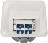 Telegärtner Anschlussdose OAD/S m.2xSC-D aws H02051C0514