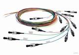 Telegärtner Faserpigtail-Set 50/125 OM3 2m 12Farben LC L00879A0010