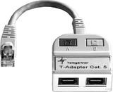 Telegärtner Modular-T-Adapter 1x10/100BT,1xISDN/g. J00029A0013
