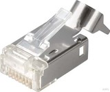 Telegärtner STX IP20 RJ45-Stecker AWG24-27 Cat.6 J80026A0000 (100 Stück)
