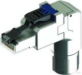 Telegärtner Stecker Cat.6A gewinkelt MFP8 T568A AWG22-27 J00026A4000