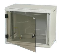 Triton DELTAB4S 12HE Wandschrank einteilig 12HE 400mm Glastür