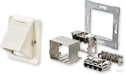 Tyco AMP/ADC Installationskit rws schräg 68x68 RAL9010 2-1711875-1