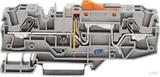 Wago 2006-1671/1000-848 TOPJOB-S ERDL. TRENNKL. F. 24V GRAU