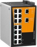 Weidmueller  IE-SW-PL16M-16TX Netzwerk Switch, managed, Fast Ethernet, Anzahl Ports: 16x