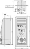 effeff 1337-11UP M. ZYLINDER BEDIENELEMENT DER FLUCHT-